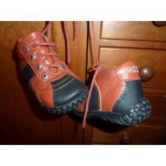 Lace Up Shoes MOD 8 Orange