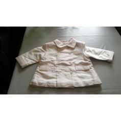 Jacket BABY DIOR White, off-white, ecru