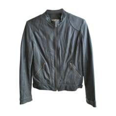 Zipped Jacket CAROLL Khaki f4be2333d31