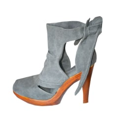 Bottines & low boots à compensés JEFFREY CAMPBELL Gris, anthracite