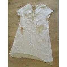 Robe ELIANE ET LENA Blanc, blanc cassé, écru