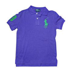 Poloshirt RALPH LAUREN Violett, malvenfarben, lavendelfarben