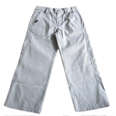 Pants CATIMINI Gray, charcoal