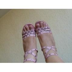 Sandales à talons BOOT SHOP Rose, fuschia, vieux rose