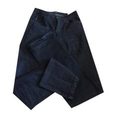 Jeans droit ARMANI JEANS Bleu, bleu marine, bleu turquoise