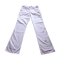 Jeans droit ARMANI JEANS Violet, mauve, lavande