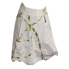 Midi Skirt DESIGUAL White, off-white, ecru