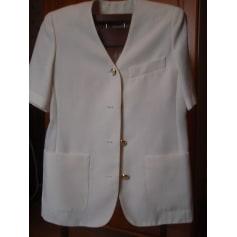 Veste MARCELLE GRIFFON Blanc, blanc cassé, écru