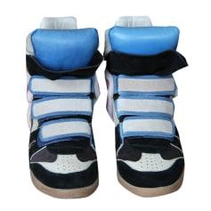 Baskets ISABEL MARANT Bleu, bleu marine, bleu turquoise