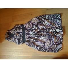 Robe courte ALAIN MANOUKIAN Violet, mauve, lavande