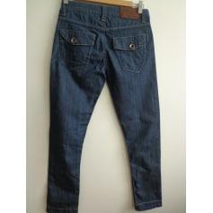 Jeans slim BEST MOUNTAIN Bleu, bleu marine, bleu turquoise