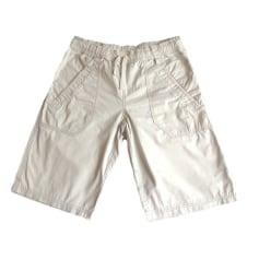 Bermuda Shorts ZARA White, off-white, ecru