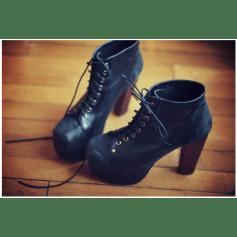 Chaussures à lacets  JEFFREY CAMPBELL Noir