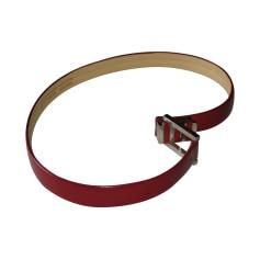 Skinny Belt ALEXIS MABILLE Red, burgundy