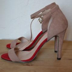 Sandales à talons PRIMARK Rose, fuschia, vieux rose