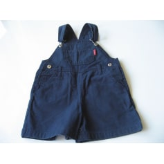 Short Overalls IN EXTENSO Blue, navy, turquoise