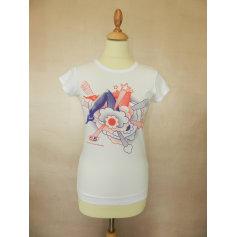 Top, tee-shirt 55DSL Blanc, blanc cassé, écru
