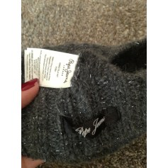Beanie PEPE JEANS Gray, charcoal