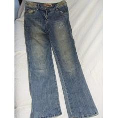 Jeans droit Vitamine  pas cher