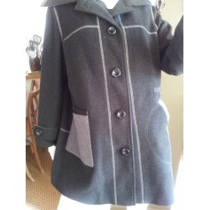 Manteau CHRISTINE LAURE Gris, anthracite