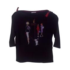 Top, tee-shirt BARBARA RIHL Noir