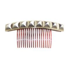 Hairclip MAISON MICHEL Golden, bronze, copper