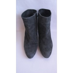 Bottines & low boots à talons MINELLI Gris, anthracite