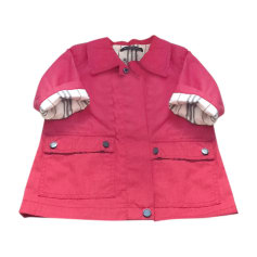 Jacket BURBERRY Red, burgundy