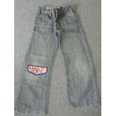 Jeans droit Okaïdi  pas cher