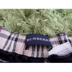 Pants BURBERRY Blue, navy, turquoise