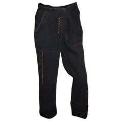Pantalon droit AVENTURES DES TOILES Noir