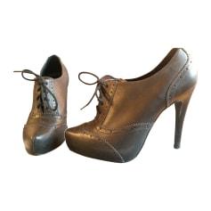 Chaussures à lacets  PASTELLE Noir