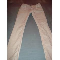 Jeans droit TEDDY SMITH Rose, fuschia, vieux rose