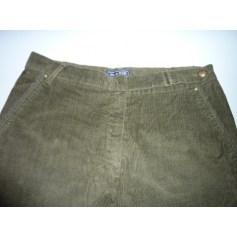Pantalon droit BLEU DE SYM Kaki