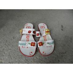 Sandales MINELLI Rouge, bordeaux