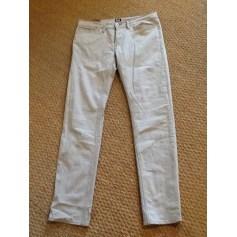 Jeans slim D&G Gris, anthracite