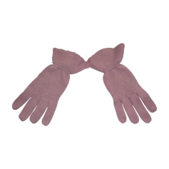 Gloves REPETTO Pink, fuchsia, light pink