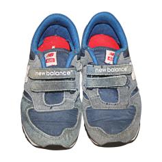 Chaussures à scratch NEW BALANCE Bleu, bleu marine, bleu turquoise