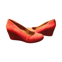 Escarpins compensés BIMBA & LOLA Rouge, bordeaux