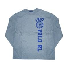 T-Shirts RALPH LAUREN Grau, anthrazit