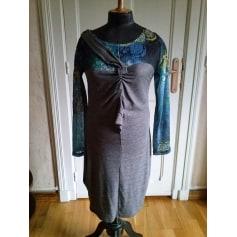 Robe mi-longue 2026  pas cher