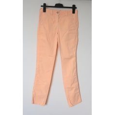 Pantalon droit 0039 ITALY abricot