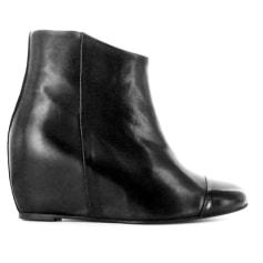 Bottines & low boots à compensés PASTELLE Noir