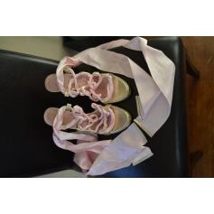 Sandales à talons ALEXIS MABILLE Doré, bronze, cuivre