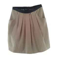 Mini Skirt BCBG MAX AZRIA Gray, charcoal
