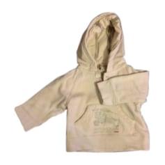 Sweat-Kleidung BURBERRY Weiß, elfenbeinfarben