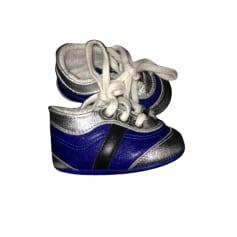 Baskets BABY DIOR Bleu, bleu marine, bleu turquoise