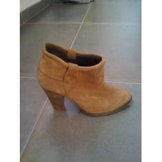 Bottines & low boots à talons ANDRÉ Beige, camel
