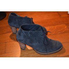 Lace Up Shoes MINELLI Blue, navy, turquoise