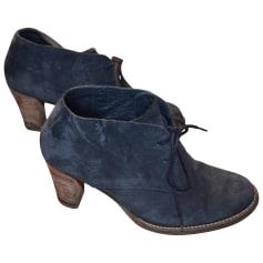 Chaussures à lacets  MINELLI Bleu, bleu marine, bleu turquoise